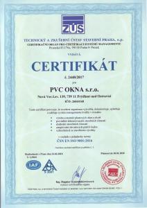 Certifikace ISO a montáže